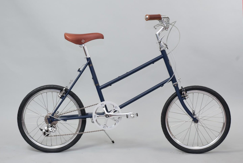 大阪府柏原市の返礼品自転車thePARKP20S マットネイビー