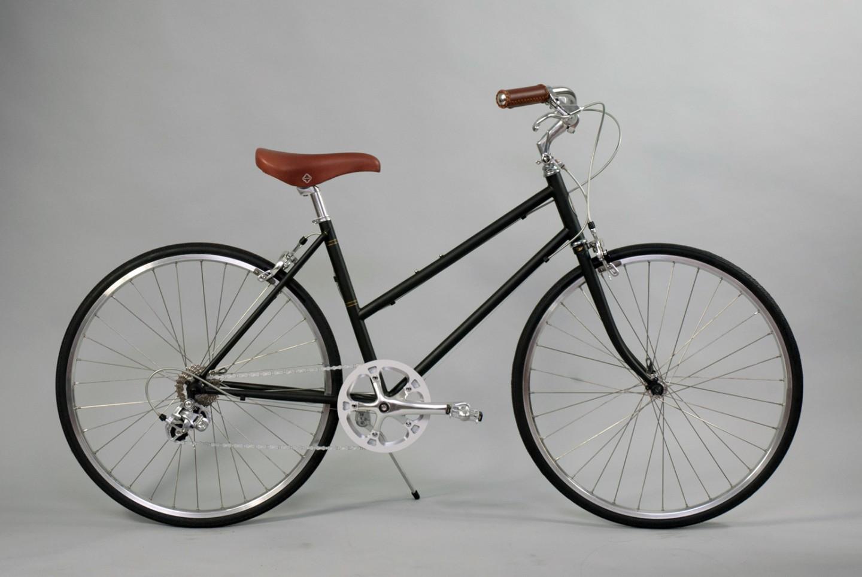 大阪府柏原市の返礼品自転車thePARKP65S マットネイビー