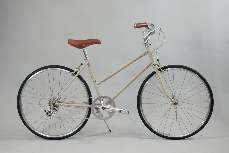 大阪府柏原市の返礼品自転車thePARKP65S マットグレー
