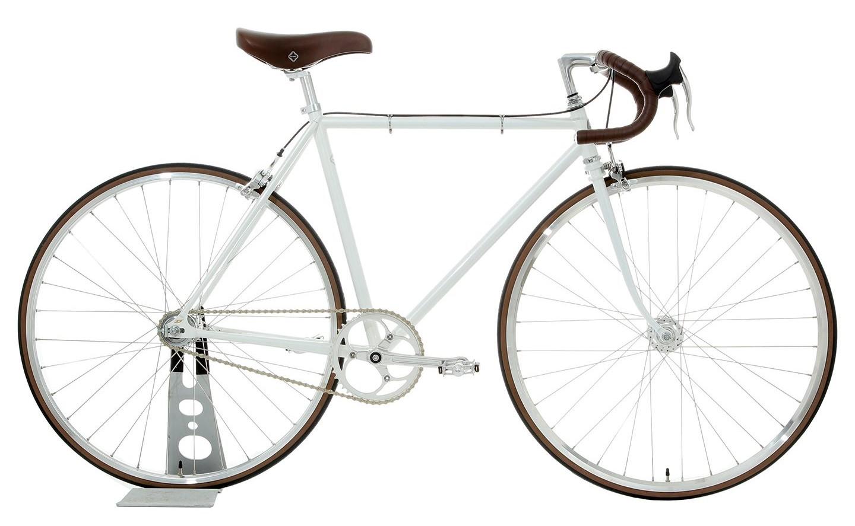 大阪府柏原市の返礼品自転車thePARKPIST ホワイト