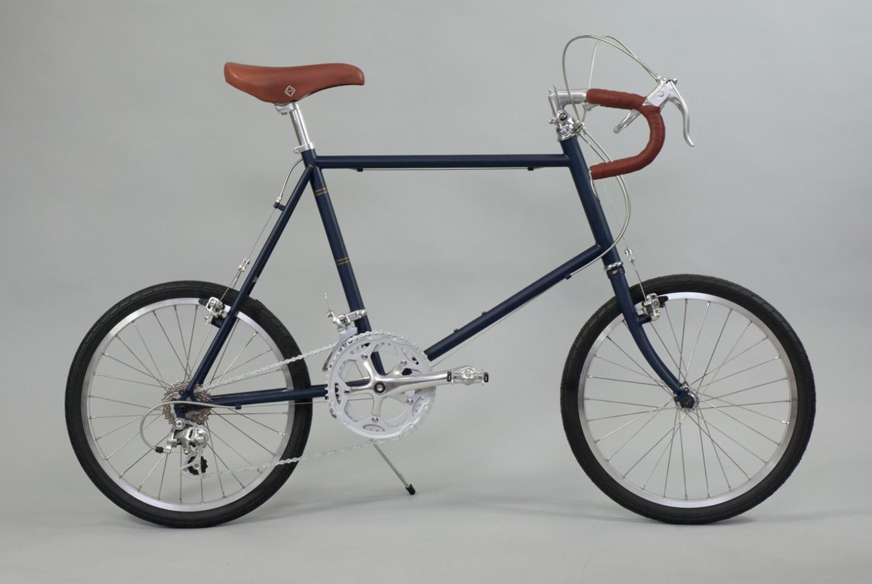 大阪府柏原市の返礼品自転車thePARK20D マットネイビー