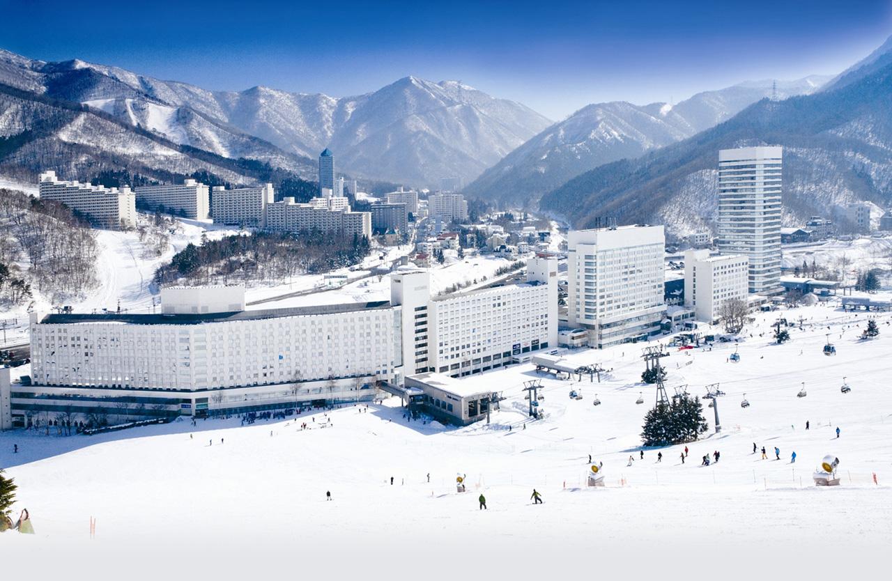 越後湯沢 湯沢町苗場スキー場