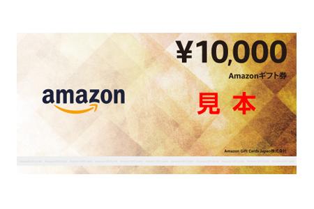 Amazonギフト券の返礼品も!Amazonギフト券 寄附金額25,000円~2,000,000円 還元率40% イメージ