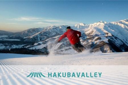 HAKUBA VALLEY 10スキー場共通1日券 1枚 還元率30%