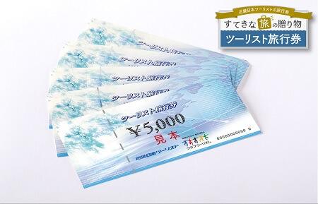ツーリスト旅行券 寄附金額100,000円 還元率50% イメージ