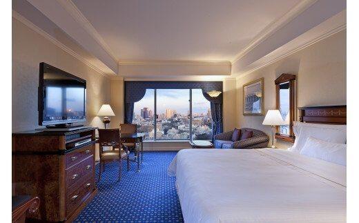 ウェスティンホテル東京 ご宿泊券 エグゼクティブルーム 1泊1部屋2名様 朝食付き