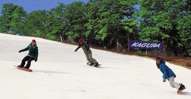湯沢町かぐらスキー場でも感謝券の利用が可能に
