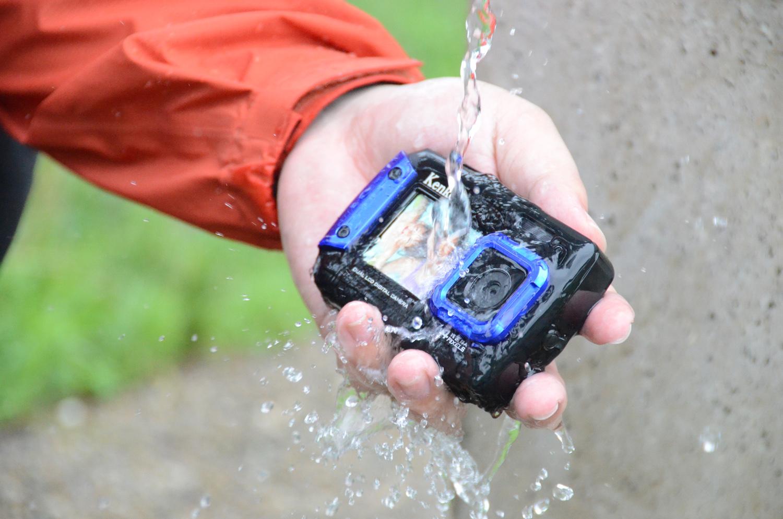 埼玉県三芳町のふるさと納税返礼品 ケンコー 防水デジカメ2