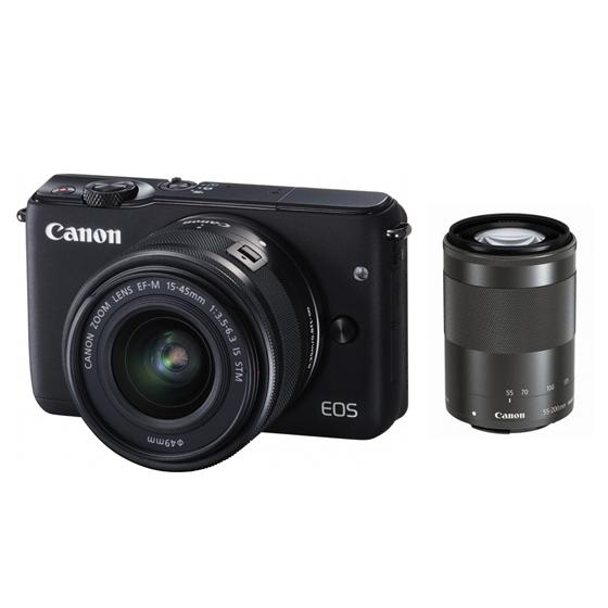 大分県国東市ふるさと納税返礼品 ミラーレスカメラ EOS M10ダブルズームキット