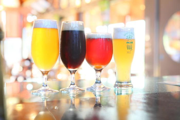 奥入瀬ビール4種の返礼品