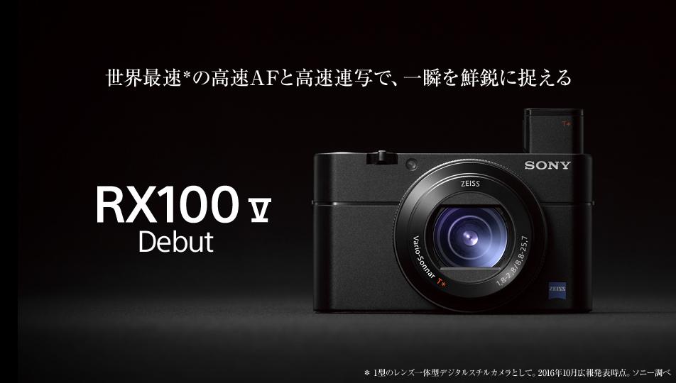 ソニーデジタル一眼スチルカメラ DSC-RX100M4