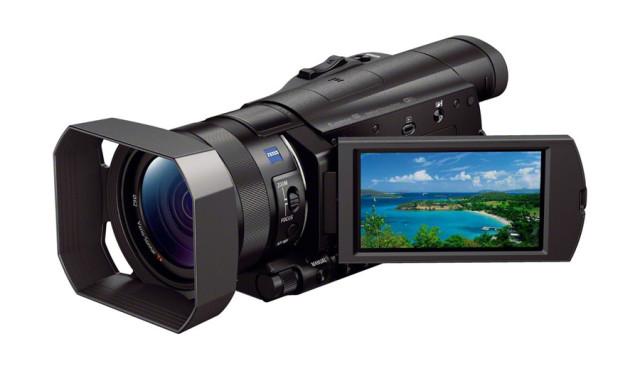 ソニーデジタル4Kデジタルビデオカメラハンディカム(FDR-AX100)
