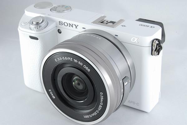 ソニーデジタル一眼カメラα6000 ILCE-6000Y W
