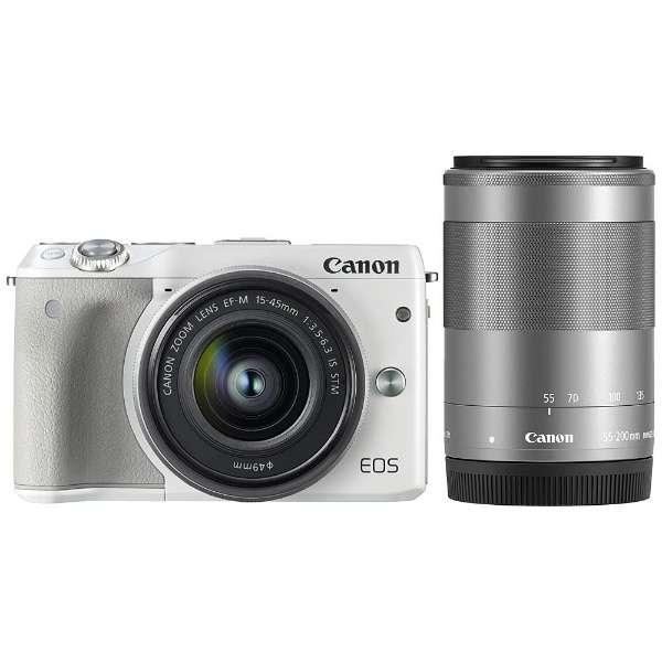 ミラーレスカメラ EOS M3 ダブルズームキット