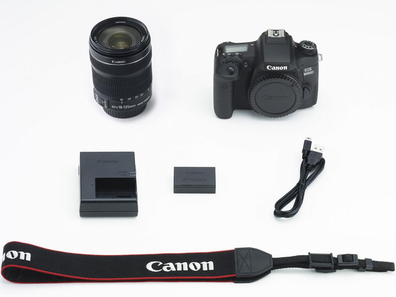 一眼デジタルカメラ EOS8000D STMレンズキット