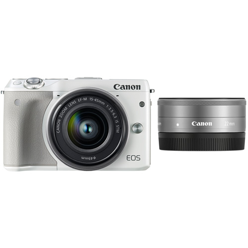 ミラーレスカメラ EOS M3 ダブルレンズキット