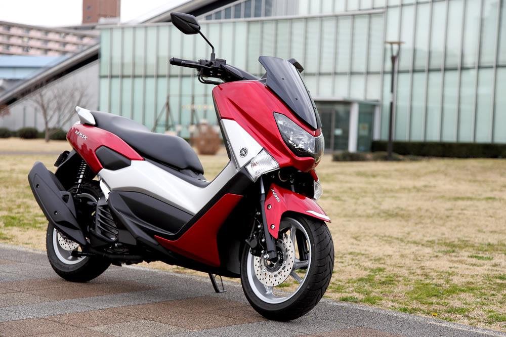YAMAHA NMAX 125CCバイク 2016モデル 赤