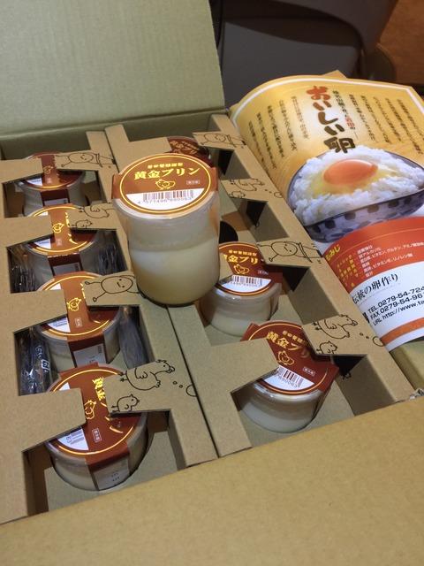 岩田の黄金プリン8個入り 寄附金額 10,000円 (群馬県榛東村)