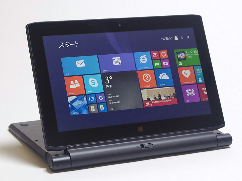 エプソン11.6型2in1タブレット TN30E パソコンでの利用も可能