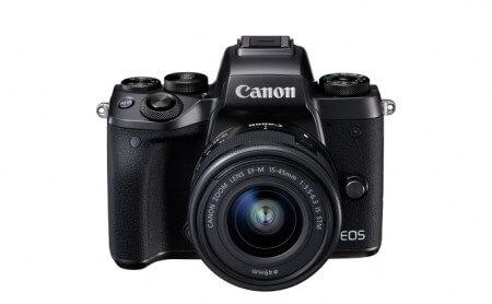ラーレスカメラ EOS M5・EF-M15-45 IS STMレンズキット 寄附金額324,000円 イメージ