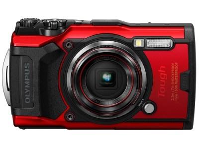 コンパクトデジタルカメラ Tough TG-6 RED(レッド) イメージ