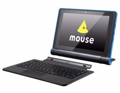 マウスコンピューター 2in1タブレットPC「mouse E10-IIYAMA」
