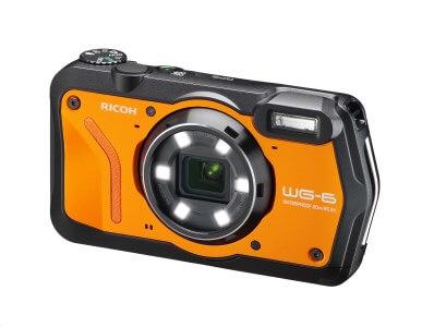 RICOH デジタルカメラ WG-6 オレンジ イメージ