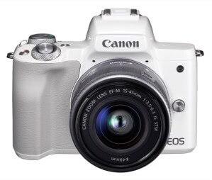 キヤノンミラーレスカメラ(EOS Kiss M・EF-M15-45 IS STM レンズキット ・ホワイト) イメージ