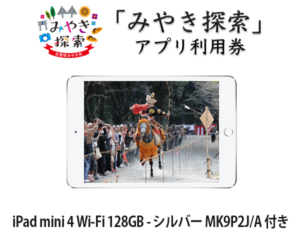 iPad mini 4 Wi-Fi 128GB MK9Q2J/A