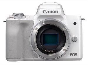 キヤノンミラーレスカメラ(EOS Kiss M・ボディー ・ホワイト) イメージ
