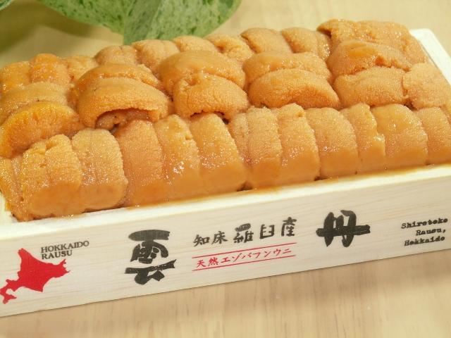 エゾバフンウニ(粒うに・うに醤油漬)セット 寄付金額20,000円(北海道羅臼町) イメージ