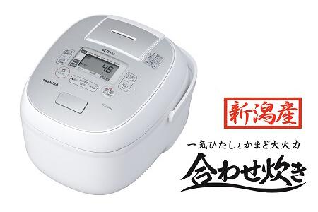 東芝真空IHジャー炊飯器 RC-10VRN(W) 5.5合