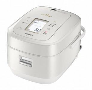 ふっくら御膳炊飯器(5.5合用・パールホワイト) 寄附金額170,000(茨城県日立市) イメージ