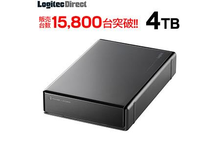 ロジテック HDD 4TB USB3.1(Gen1) 外付け ハードディスク テレビ 3.5インチ