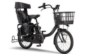 電動アシスト自転車 PAS Babby un SPリヤチャイルドシート 標準装備モデル マットブラック2 イメージ