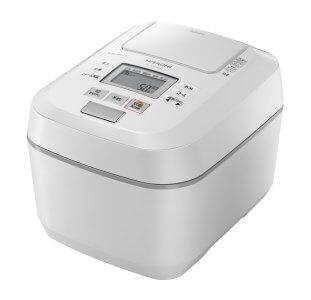 【圧力スチームIH】炊飯器(5.5合用) RZ-V100DM