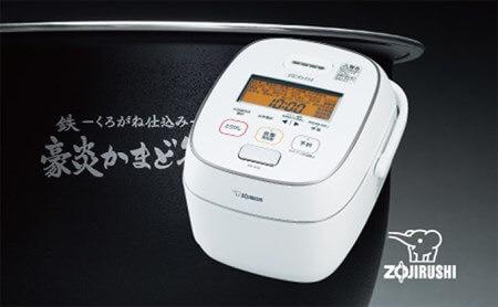 象印圧力IH炊飯ジャー「極め炊き」NWJU10-WA 5.5合 イメージ