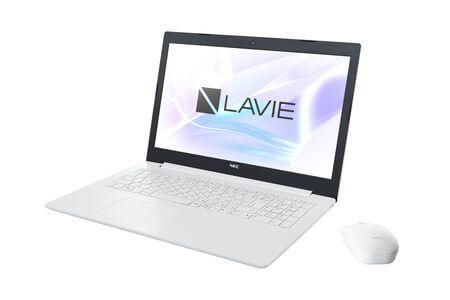 NEC製 15.6型ノート LAVIE Direct NS(カームホワイト)寄附金額324,000円 イメージ