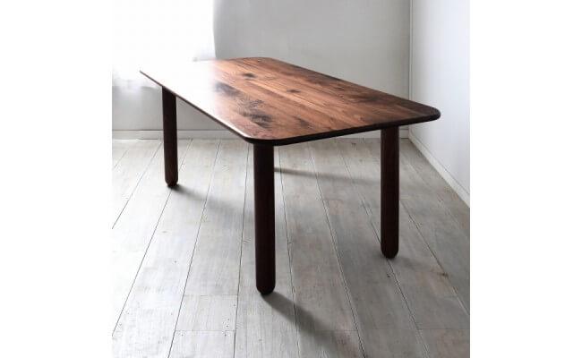 タブレットダイニングテーブル150ウォールナット