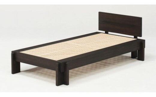 桐組子ベッド「HASH BED(ハッシュベッド)」ヘッドあり