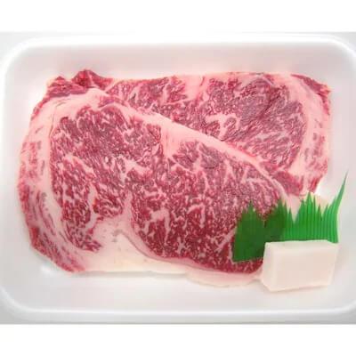 上州牛サーロインステーキ2枚入り(合計320g) イメージ