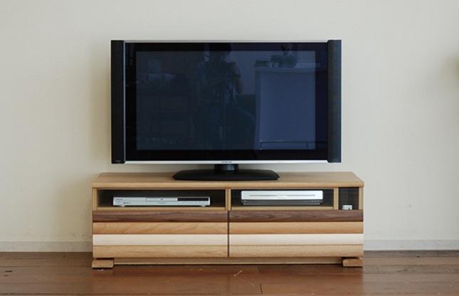 テレビボード「アプリケ140L」 寄附金額 130,000円 (福岡県大木町)