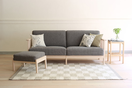 n'frame sofa I L(北の住まい設計社) 寄附金額 1,000,000円 (北海道東川町)