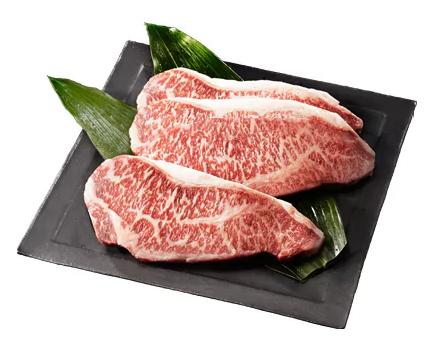 1位 還元率85%:佐賀牛 A5サーロイン ステーキ用600g(3枚入りセット)寄附金額 20,000円 (佐賀県嬉野市)