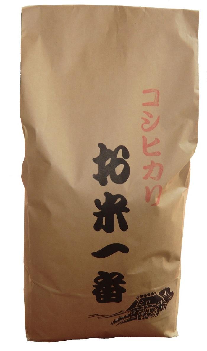 コシヒカリ 5kg×12ヵ月定期便 寄附金額 100,000円 イメージ