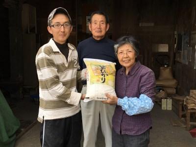 新米!五島のお米 ヒノヒカリ5kg × 3回 寄附金額20,000円 イメージ