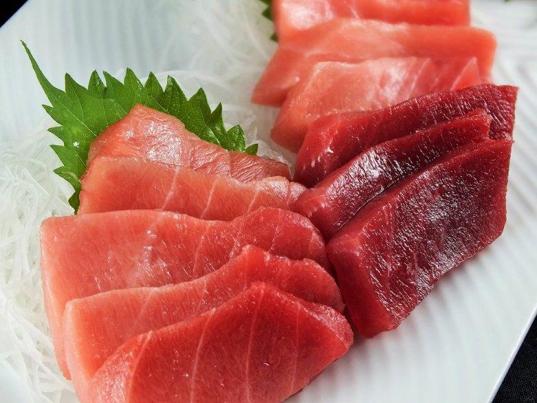 まぐろの魚二厳選 天然南鮪中トロ赤身セット 寄附金額10,000円