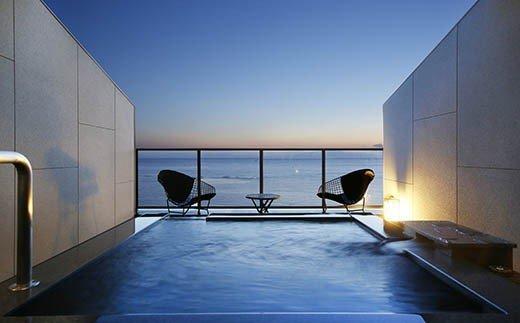 水平線に溶け込むテラスで ホテル宿泊温泉プラン