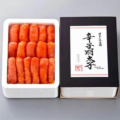 還元率86% 博多の味本舗 辛子明太子(無着色・二段仕込)500g