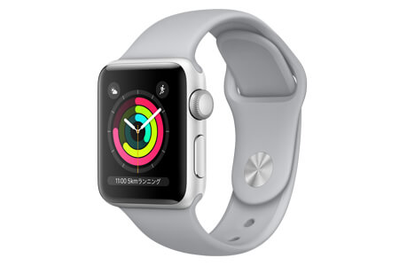 Apple Watch Series3 GPS ケースサイズ42ミリ シルバー 寄附金額130,000円